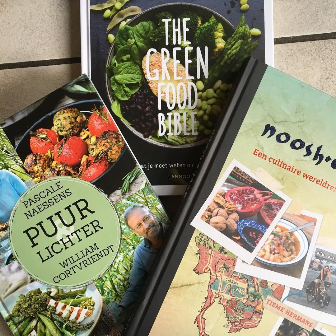 Drie op een rij: The green food bible, Noosh-e-jaan en Puur lichter