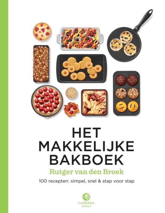 Het makkelijke bakboek is makkelijk! Met recept voor supersnelle rozijnenbroodjes.
