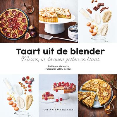 Taart uit de blender, is zo klaar!  Met recept voor bloemkool Roquefort taart.