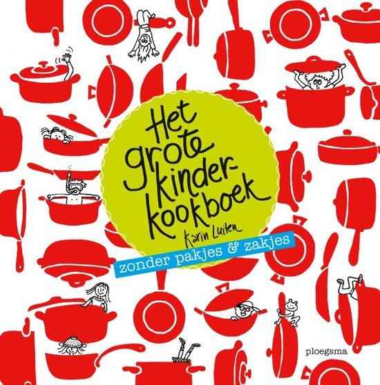 Het grote kinderkookboek: is ook een cadeau voor ouders
