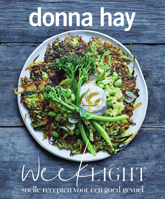 Donna Hay weeklight + recept voor vegaburger