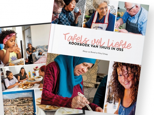 Tafels vol liefde, het kookboek van thuis in Oss