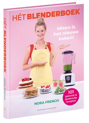 Het blenderboek + kefir-mango smoothie recept