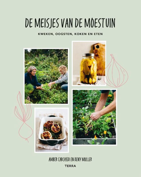 De meisjes van de moestuin: informerend en inspirerend + rabarber recept