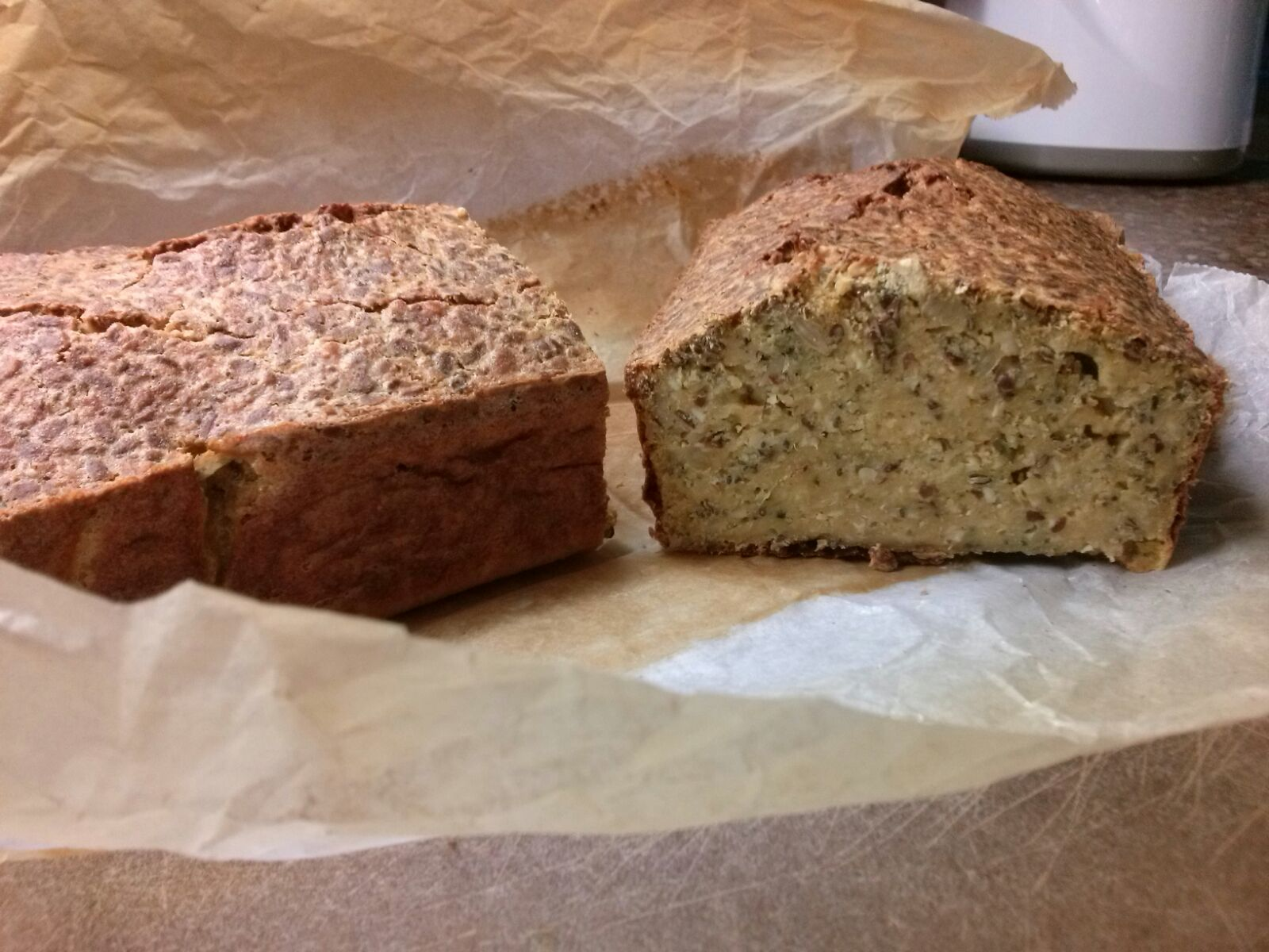 Recept voor Superfood eiwitrijk brood uit Jamie's Superfood