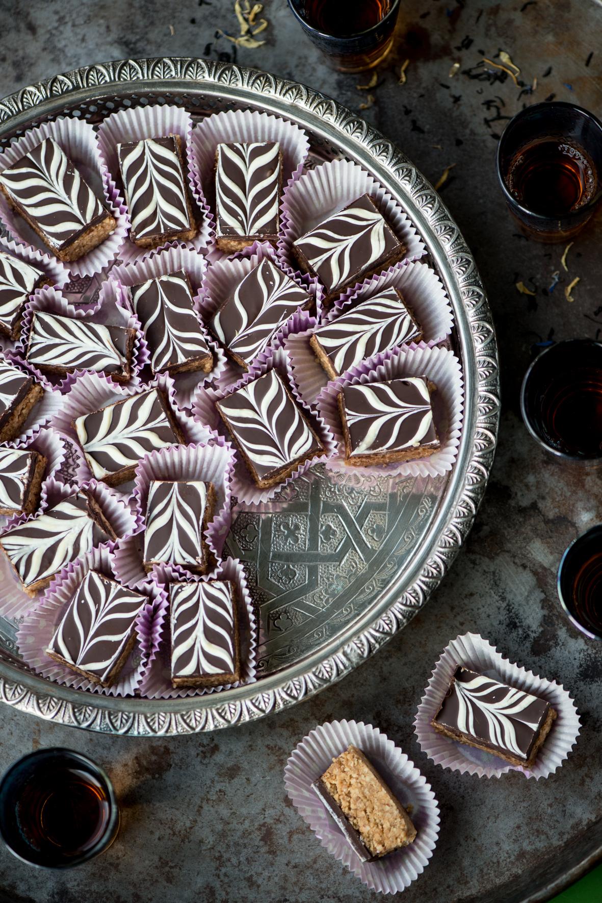 Marokkaanse Snickers uit Mijn Arabische Keuken van Mounir Toub